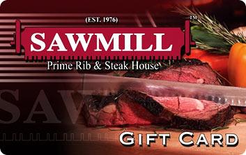 Sawmill E-Gift Card