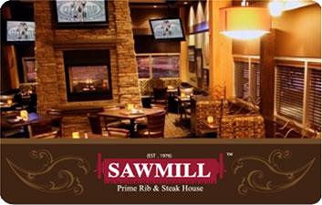 Gift Cards | Sawmill Restaurant